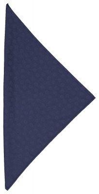 HEMA HEMA Servetten 47x47 Damast Katoen - Blauw Stip - 2 Stuks (blauw)