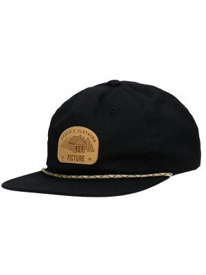 Picture Picture United Soft Cap zwart