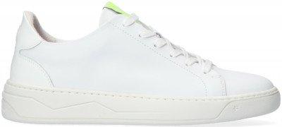 Floris van Bommel Witte Floris Van Bommel Lage Sneakers 85344