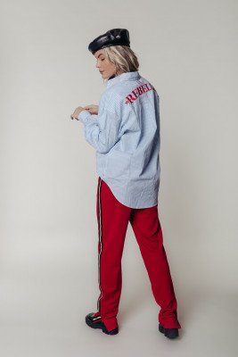 Colourful Rebel Colourful Rebel Cece Blouse Wit Dames - Oversized Fit - Katoen