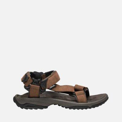 Teva Teva Terra Fi Lite Leather Sandalen, Bruin voor Heren, Maat 44.5