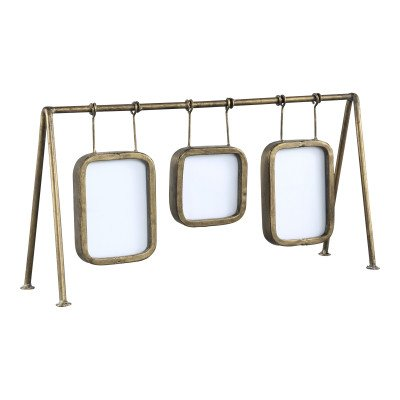 Jins gold 3 hanging picture frames