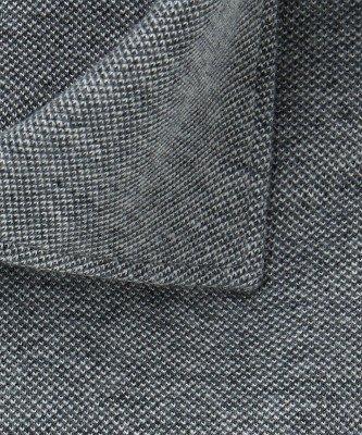 Profuomo Profuomo heren antraciet mélange knitted overhemd Originale
