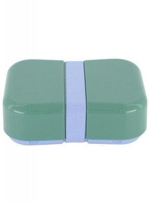 HEMA HEMA Lunchbox Met Elastiek Lichtblauw (groen)