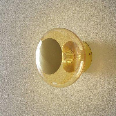Ebb en Flow EBB & FLOW Horizon fitting goud/goud-rook Ø 21cm