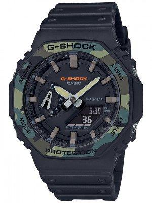 G-SHOCK G-SHOCK GA-2100SU-1AER zwart