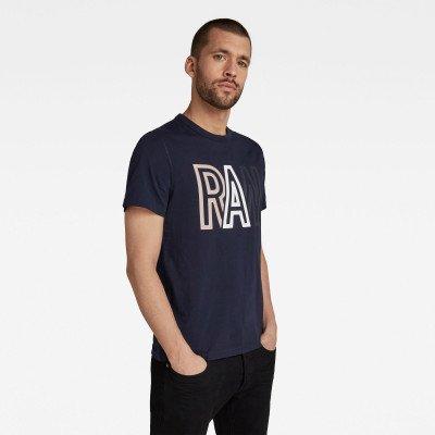 G-Star RAW Raw T-Shirt - Donkerblauw - Heren