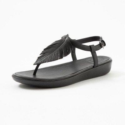 FitFlop FitFlop Tia Feather sandalen zwart