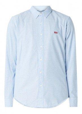 Levi's Levi's Slim fit overhemd met logoborduring