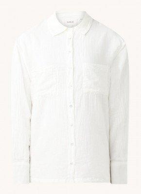 BAenSH ba&sh Tao blouse met opgestikte zakken