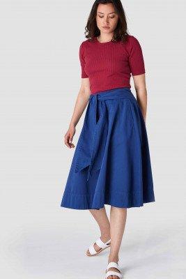 Kings of indigo Kings of Indigo - TIGERLILY skirt Women - Blue