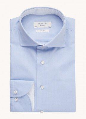 Profuomo Profuomo Slim fit overhemd van katoen