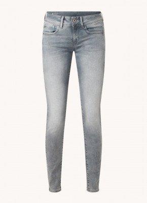 G-Star Raw G-Star RAW Lynn mid waist skinny fit jeans met stretch