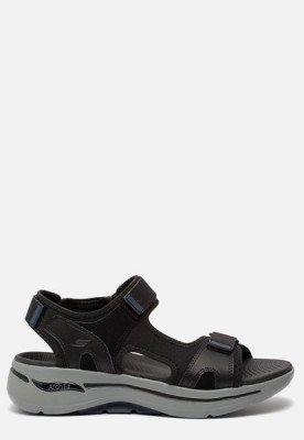 Skechers Skechers Arch Fit sandalen zwart