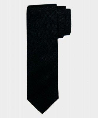 Michaelis Michaelis heren zijden stropdas zwart