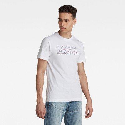 G-Star RAW 3D RAW. T-Shirt - Wit - Heren