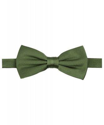 Profuomo Profuomo heren groene zijden strik