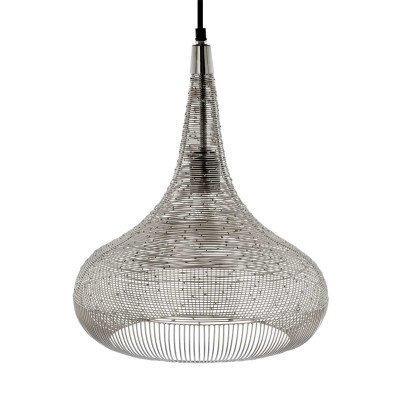 Riverdale NL Hanglamp Ysa zilver 40cm