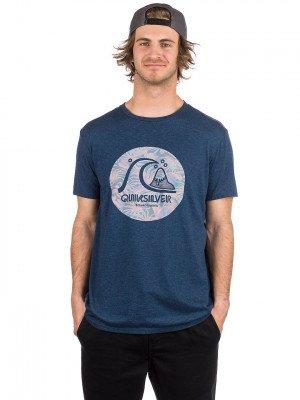 Quiksilver Quiksilver Custom Prints T-Shirt blauw