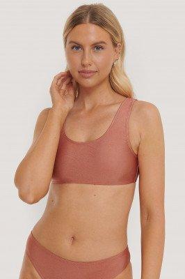 NA-KD Swimwear NA-KD Swimwear Bikinitop - Pink