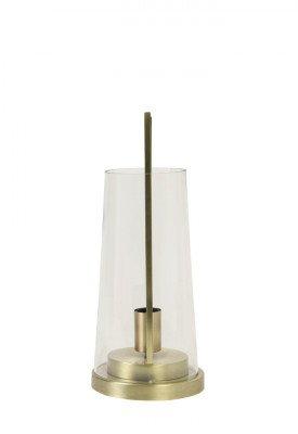 Light en Living Light & Living Tafellamp 'Amando' 44cm, kleur Brons