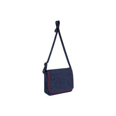 Supreme Supreme x Lacoste Small Messenger Bag Navy (FW19)
