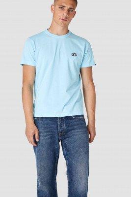 Kings of indigo Kings of Indigo - DARIUS t-shirt short sleeve Male - Light Blue