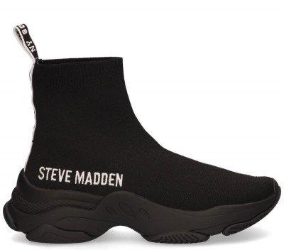 Steve Madden Steve Madden Master Zwart Damessneakers