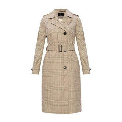 AllSaints 'Chiara' notched lapel coat