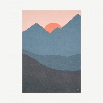 MADE.COM David & David Studio, Couche De Soleil, print, door Julien Caretti, 50 x 70 cm