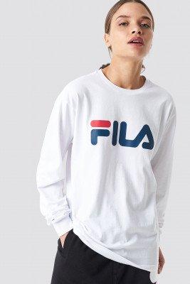 FILA Classic Pure Long Sleeve Shirt - White