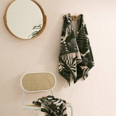 MADE.COM Rocoto set van 4 handdoeken, groen