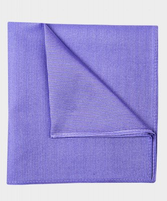 Michaelis Michaelis heren zijden pochet lila