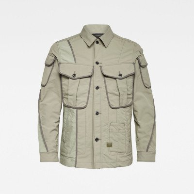 G-Star RAW E Multi Pocket Canvas Indoor Jacket - Meerkleurig - Heren