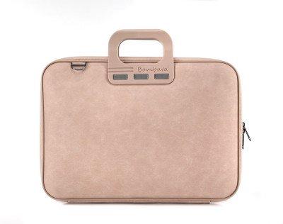 Bombata Bombata Denim Laptoptas 15,6 inch Pink