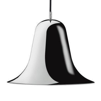 Verpan VERPAN Pantop hanglamp, Ø 30cm, zwart glanzend