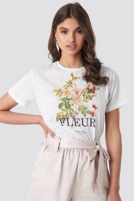 Trendyol Fleur Tee - White