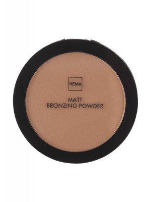 HEMA Matt Bronzing Powder Medium (brons)
