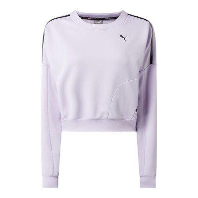 Puma Relaxed fit sweatshirt met logoprint - dryCELL