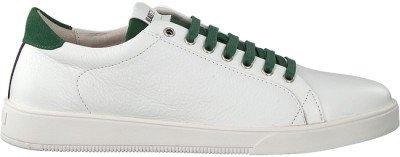 Blackstone Witte Blackstone Lage Sneakers Rm31