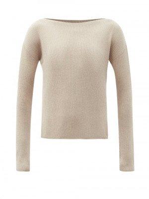 Matchesfashion Max Mara Leisure - Ciro Sweater - Womens - Beige
