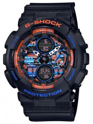 G-SHOCK G-SHOCK GA-140CT-1AER Watch zwart