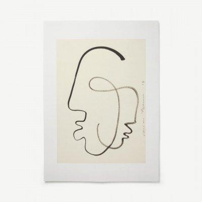 MADE.COM One Soul door LouLou Avenue, print, 50 x 70 cm
