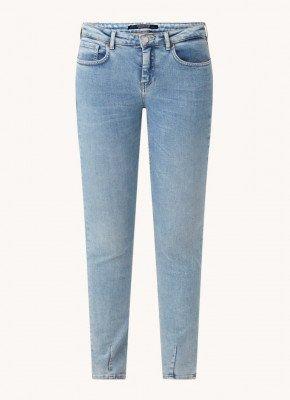 Scotch & Soda Scotch & Soda Mid waist skinny fit jeans met stretch
