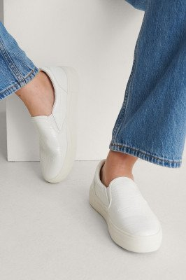 NA-KD Shoes NA-KD Shoes Slip-In Sneakers - White
