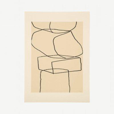 MADE.COM The Poster Club, Stacks, print door By Garmi, 70 x 100 cm