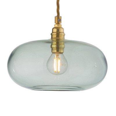 Ebb en Flow EBB & FLOW Horizon glas-hanglamp groen Ø 21 cm