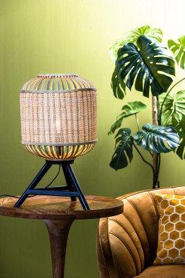 Light en Living Light & Living Tafellamp 'Alifia' Bamboe