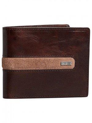 Billabong Billabong Dbah Leather Wallet bruin