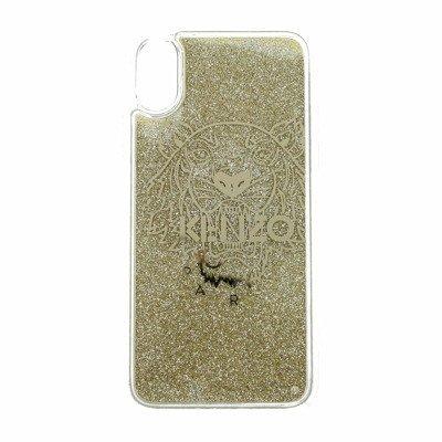Kenzo Porta iPhone x/xs Silicone Trasparente